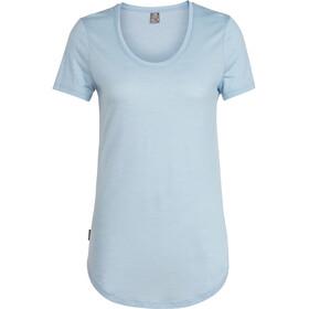 Icebreaker Solace SS Scoop Shirt Women sky heather